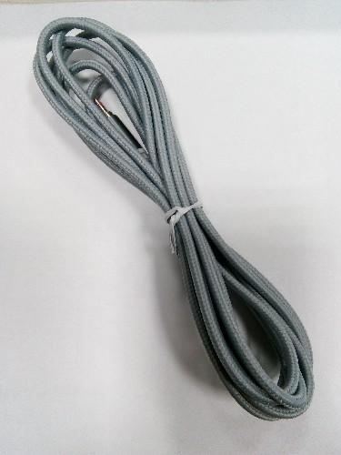 """Шнур 3.5мм """"шт"""" стерео - 3.5мм """"шт"""" стерео  3м тканевый серый (тех/упаковка)"""