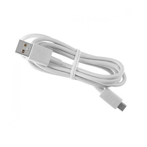 USB-кабель micro-USB резиновый белый (коробка)