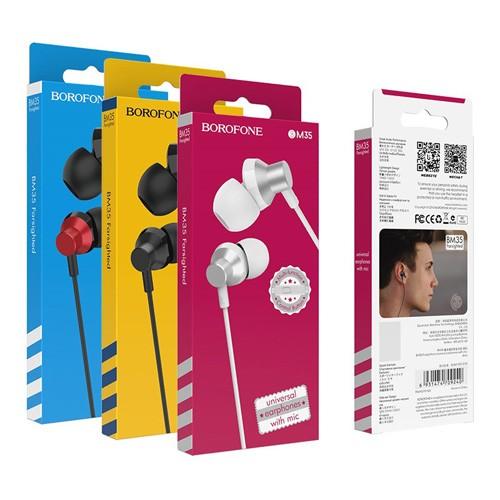 Гарнитура BOROFONE BM35 MP3/iPod джек 3.5 стерео + микрофон