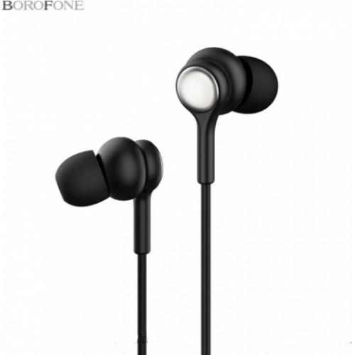 Гарнитура BOROFONE BM31 MP3/iPod джек 3.5 стерео + микрофон черная